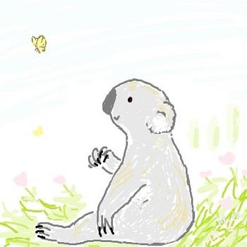 snsコアラと蝶々re.jpg