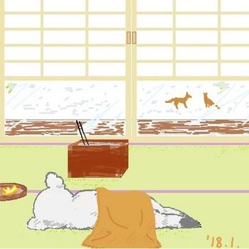 snsコアラと雪の日.jpg